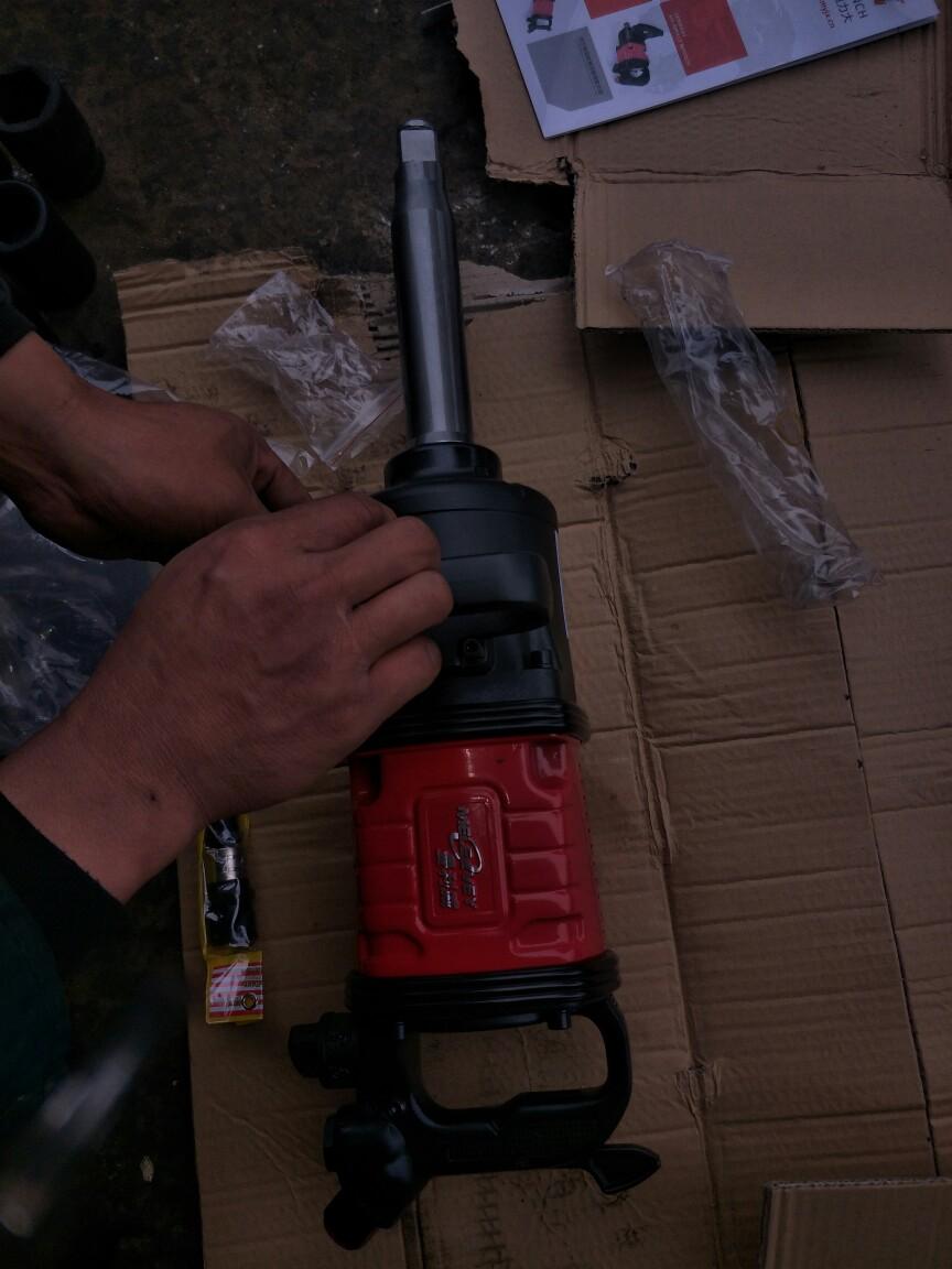 【视频】轮胎螺丝能用风炮打吗-风炮机怎么使用-曼利威风炮好不好-风炮维修技术视频